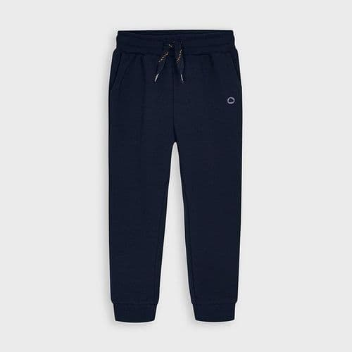 Joggers with elastic cuffs 725 Navy